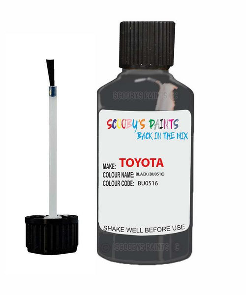 Toyota Car Touch Up Paint Black Bu0516 Scratch Repair Kit