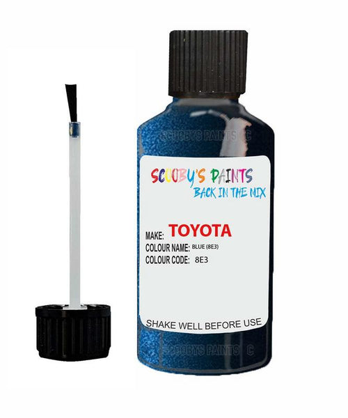 Toyota Car Touch Up Paint Blue 8E3 Scratch Repair Kit