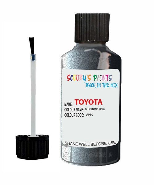 Toyota Car Touch Up Paint Bluestone 8N6 Scratch Repair Kit