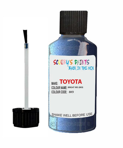 Toyota Car Touch Up Paint Bright Iris 8K9 Scratch Repair Kit