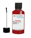 Toyota Car Touch Up Paint Bright Red 3E6 Scratch Repair Kit