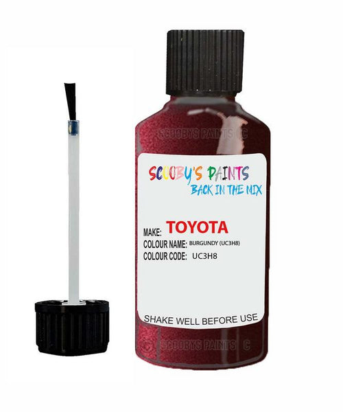 Toyota Car Touch Up Paint Burgundy Uc3H8 Scratch Repair Kit