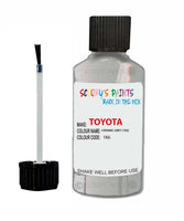 Toyota Car Touch Up Paint Ceramic Grey 1K6 Scratch Repair Kit