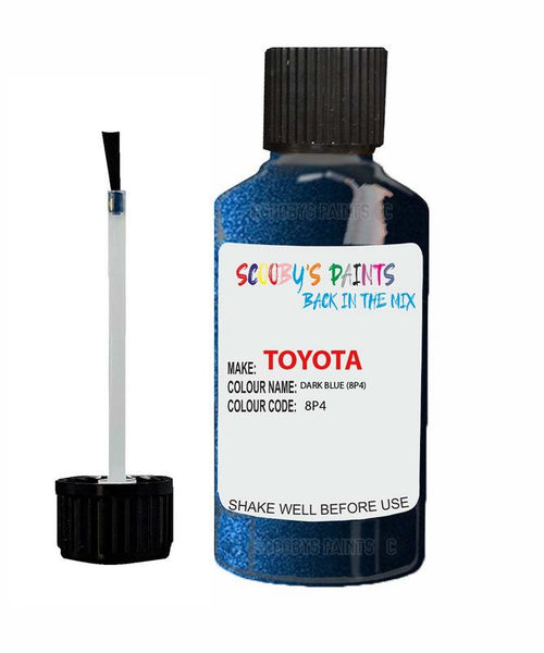 Toyota Car Touch Up Paint Dark Blue 8P4 Scratch Repair Kit