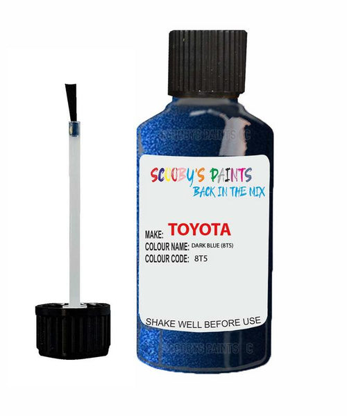 Toyota Car Touch Up Paint Dark Blue 8T5 Scratch Repair Kit