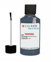 Toyota Car Touch Up Paint Dk Grayish Blue 8H1 Scratch Repair Kit