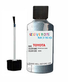 toyota yaris frozen blue code 8w8 touch up paint 2013 2013 Scratch Stone Chip Repair