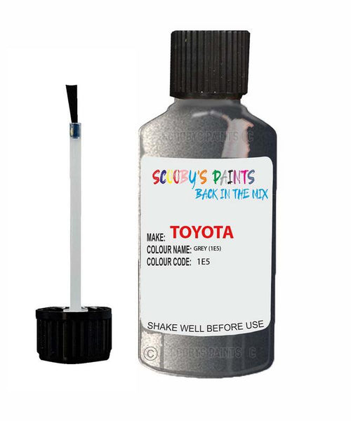 Toyota Car Touch Up Paint Grey 1E5 Scratch Repair Kit