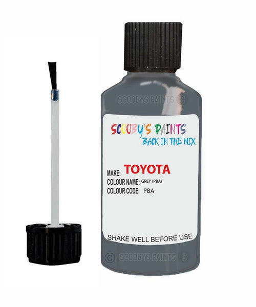 Toyota Car Touch Up Paint Grey Pba Scratch Repair Kit