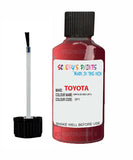 Toyota Car Touch Up Paint Impulse Red 3P1 Scratch Repair Kit