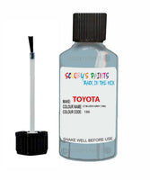 Toyota Car Touch Up Paint Lt Bluish Gray 186 Scratch Repair Kit