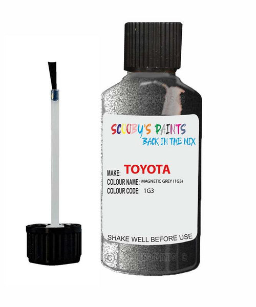 Toyota Car Touch Up Paint Magnetic Grey 1G3 Scratch Repair Kit