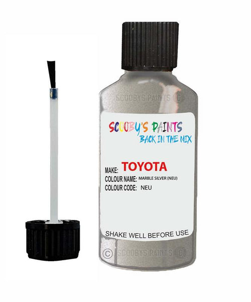 Toyota Car Touch Up Paint Marble Silver Neu Scratch Repair Kit