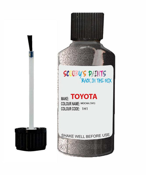 Toyota Car Touch Up Paint Mocha 1H1 Scratch Repair Kit