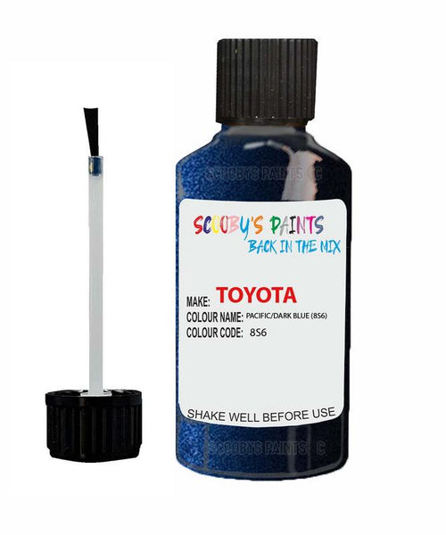 Toyota Car Touch Up Paint Pacific Dark Blue 8S6 Scratch Repair Kit