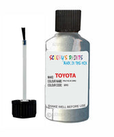 toyota yaris pale blue code 8r0 touch up paint 2002 2008 Scratch Stone Chip Repair