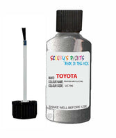 Toyota Car Touch Up Paint Pewter Grey Uc196 Scratch Repair Kit