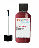 Toyota Car Touch Up Paint Red 3K4 Scratch Repair Kit