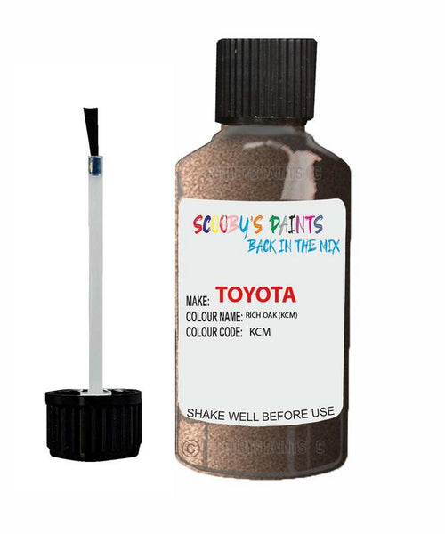 toyota verso rich oak code kcm touch up paint 2017 2019 Scratch Stone Chip Repair