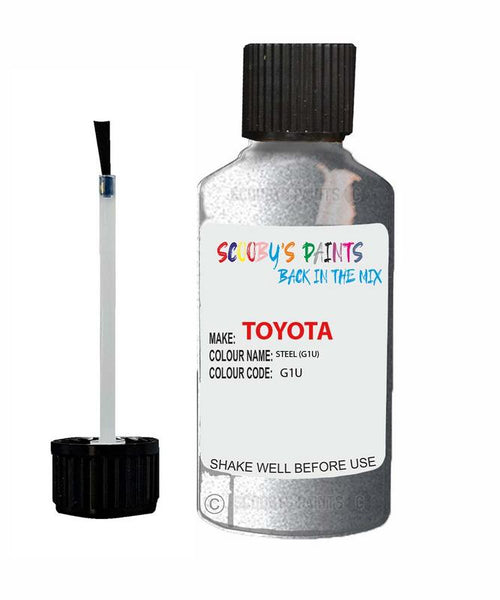 Toyota Car Touch Up Paint Steel G1U Scratch Repair Kit