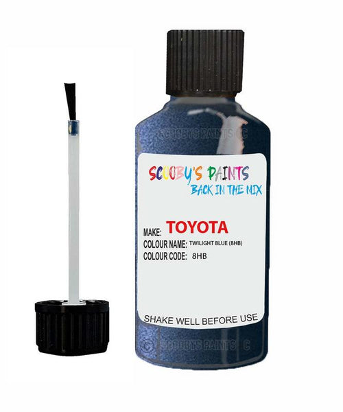 Toyota Car Touch Up Paint Twilight Blue 8Hb Scratch Repair Kit