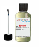 Toyota Car Touch Up Paint Yellow Green Opal 6Q9 Scratch Repair Kit