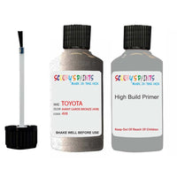 Anti Rust High Build Undercoat Toyota Touch Up Paint With Primer Avant Garde Bronze 4V8