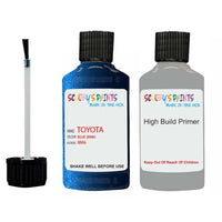 Anti Rust High Build Undercoat Toyota Touch Up Paint With Primer Blue 8M6