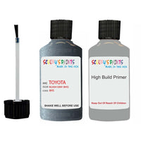 Anti Rust High Build Undercoat Toyota Touch Up Paint With Primer Bluish Gray 8H5