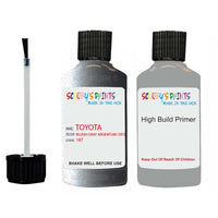Anti Rust High Build Undercoat Toyota Touch Up Paint With Primer Bluish Gray Argentum 187