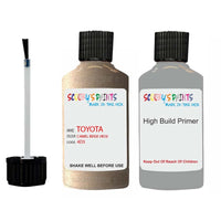 Anti Rust High Build Undercoat Toyota Touch Up Paint With Primer Camel Beige 4D3