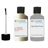 Anti Rust High Build Undercoat Toyota Touch Up Paint With Primer Champagne 583