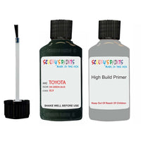 Anti Rust High Build Undercoat Toyota Touch Up Paint With Primer Dk Green 6L9