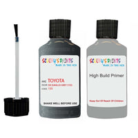 Anti Rust High Build Undercoat Toyota Touch Up Paint With Primer Dk Saville Grey 155