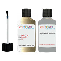 toyota verso gold code 585 touch up paint 1999 2002 Primer undercoat anti rust protection