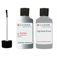 Anti Rust High Build Undercoat Toyota Touch Up Paint With Primer Light Blue 8S1