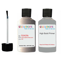 Anti Rust High Build Undercoat Toyota Touch Up Paint With Primer Light Grayish Rose 3K7