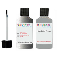 Anti Rust High Build Undercoat Toyota Touch Up Paint With Primer Pewter Grey Uc196