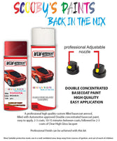 Toyota Camry Impulse Red 3P1 Aerosol Spray Paint Rattle Can