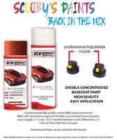 Toyota Aygo Orange Mandaline 4U4 Aerosol Spray Paint Rattle Can