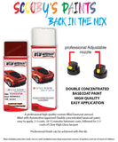 Toyota Corolla Passion Red S6167 Aerosol Spray Paint Rattle Can