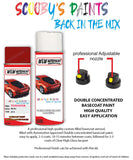 Toyota Starlet Red 3F3 Aerosol Spray Paint Rattle Can