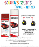 Toyota Corolla Red 3F4 Aerosol Spray Paint Rattle Can