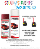 Toyota Corolla Red 3K4 Aerosol Spray Paint Rattle Can