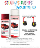 Toyota Picnic Red 3M8 Aerosol Spray Paint Rattle Can