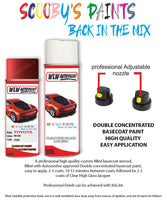 Toyota Corolla Red 3N8 Aerosol Spray Paint Rattle Can