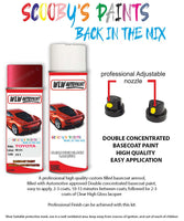 Toyota Yaris Red 3S1 Aerosol Spray Paint Rattle Can