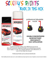 Toyota Verso Sicily Black Exy Aerosol Spray Paint Rattle Can