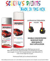 Toyota Yaris Verso Silver 48C Aerosol Spray Paint Rattle Can
