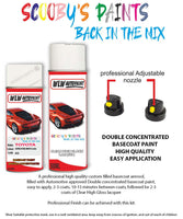 Toyota Yaris Verso Super Pure White Ii 040 Aerosol Spray Paint Can